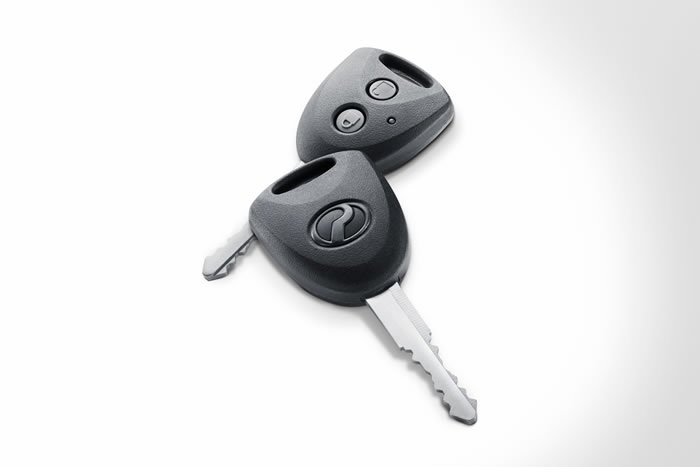 Intergrated Remote Key
