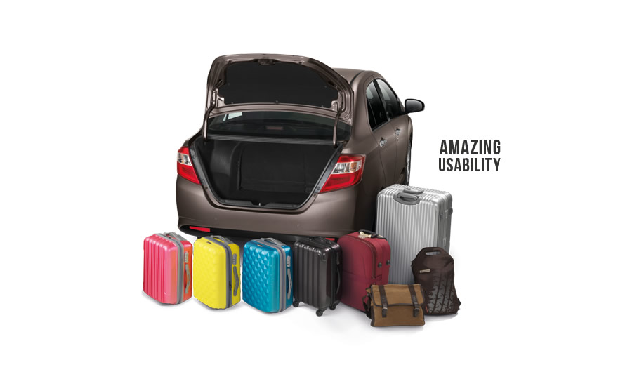 Amazing usability - 508L luggage space