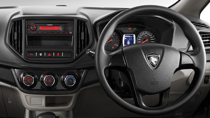 Dual-tone Dashboard Single DIN Radio